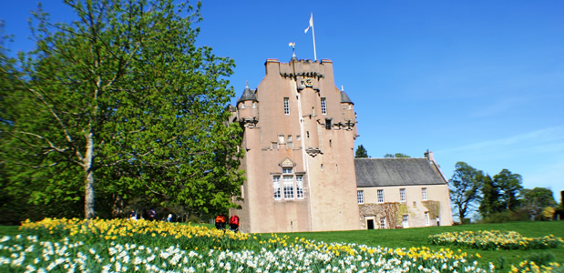 Crathes Castle, near Stonehaven, North East Scotland