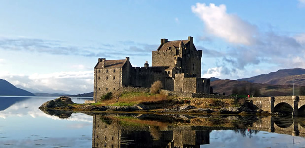 Eilean Donan Castle, Kyle of Lochalsh, west of Scotland