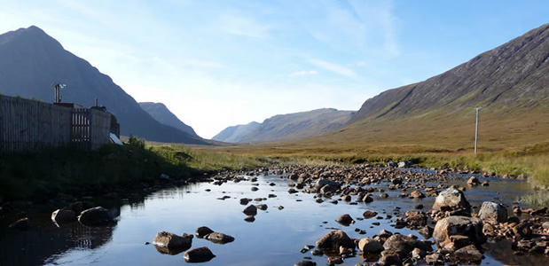 Glencoe, where the famous massacre took place in 1692